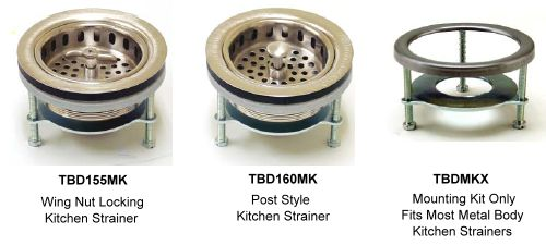 Compatible Strainers for the Sure Seal Mounting System